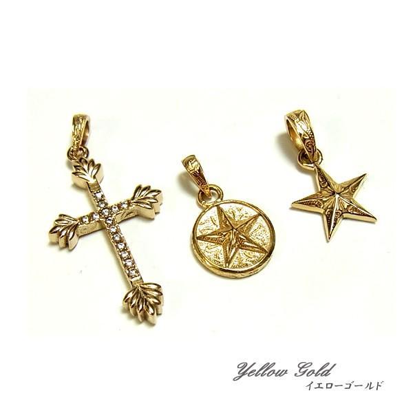 ハワイアンジュエリー ネックレス 2連 ゴールド  シルバー クロス スター 星  お花 アロマ 誕生日 記念|juraice|05