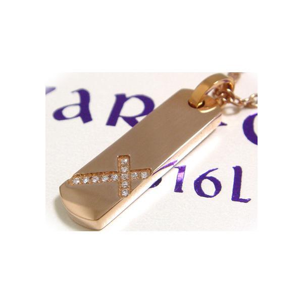 【ZARGON】ザルゴンCZピンクゴールドプレートステンレスペンダント/ピンク/ファッション/アクセ/ブランド/ホワイト/白/ステンレス/アクセサリー ju8 半額 sale juraice