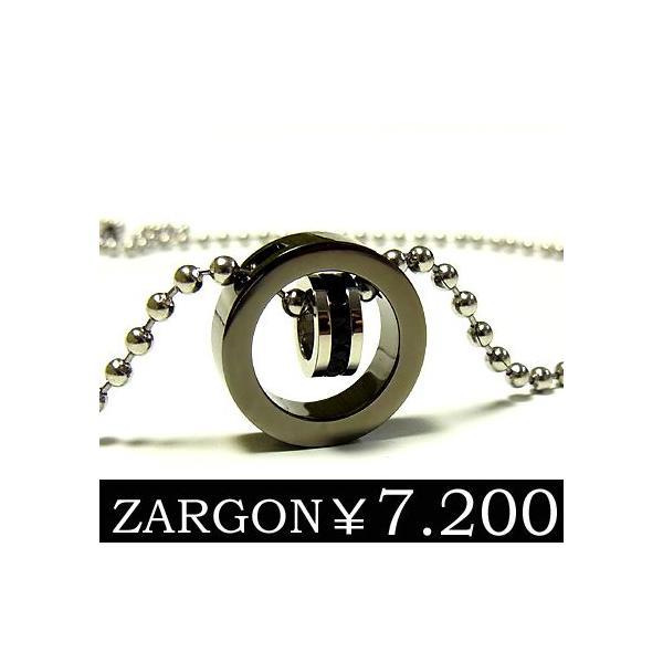 ネックレス メンズ チェーン ステンレス ブラック 石 ジルコニア リング ペア ZARGON ju8 半額 sale juraice