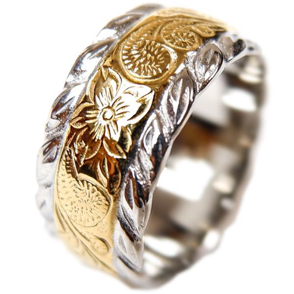 ハワイアンジュエリー リング メンズ レディース 指輪 ピンキー イエローゴールド 記念日 誕生日 プレゼント ギフト sale|juraice