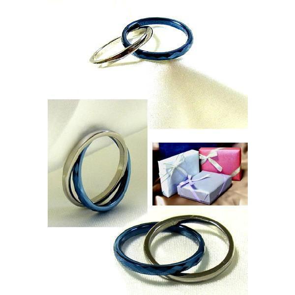 リング ブルー タングステン 送料無料 2連 刻印可能 プレゼント 指輪 ブランド Evolved from arms 年度末 sale|juraice|06