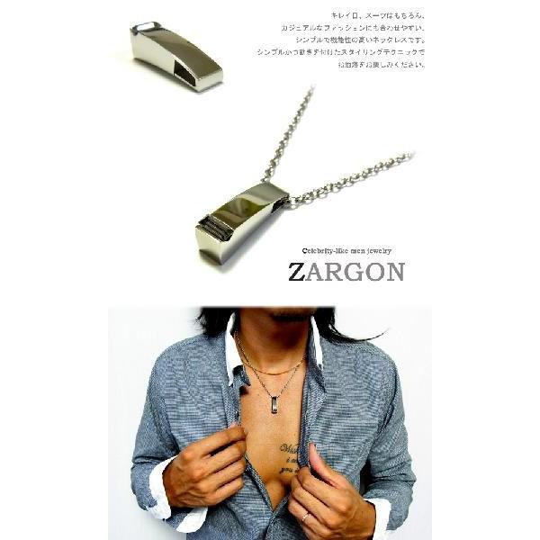 ネックレス メンズ ステンレス ブラッククリスタル ペンダント ブランド プレゼント ZARGON 半額 sale|juraice|05