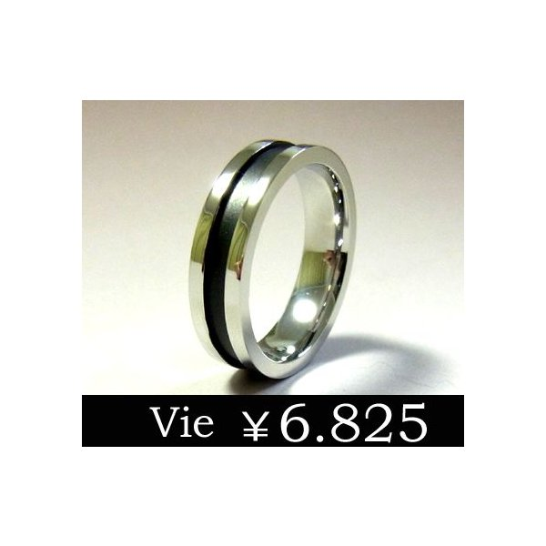 【vie】ブラックステンレスリング/ヴィー/ギフト/メンズ sale|juraice