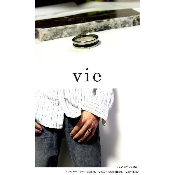 【vie】ブラックステンレスリング/ヴィー/ギフト/メンズ sale|juraice|04