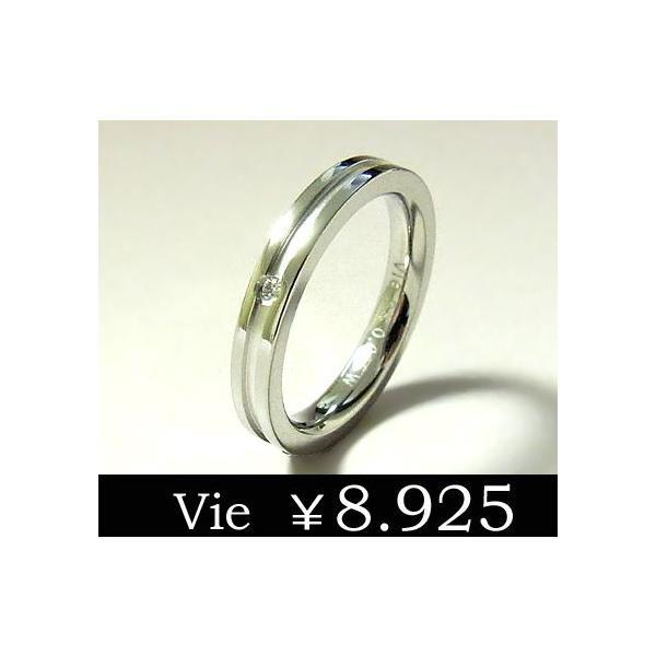 送料無料【vie】天然ダイヤモンドステンレスリング/ヴィー/st sale|juraice