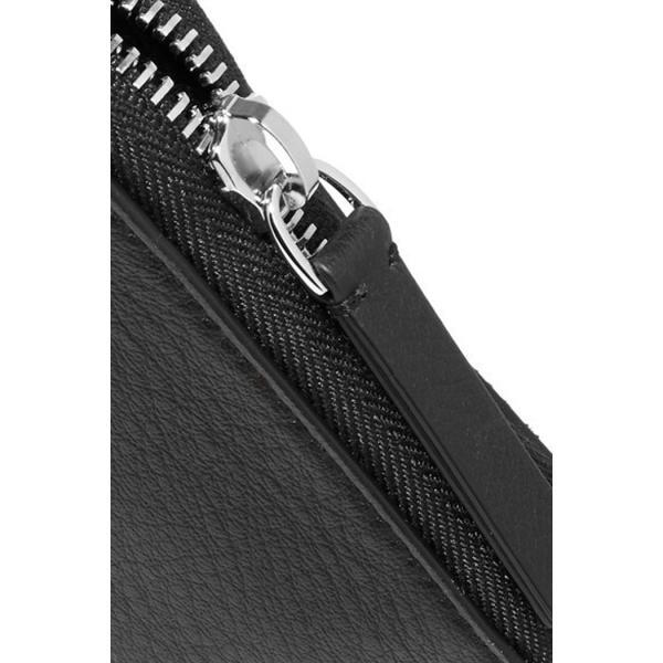 バレンシアガ BALENCIAGA ロゴ ラウンドジップ長財布 ブラック/BLACK 490625DLQ0N1000 jurer-store 05