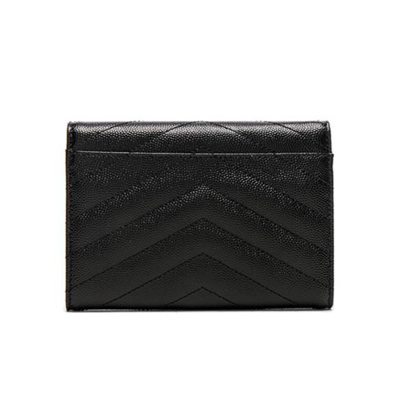 サンローラン モノグラム パスポート&カードケース SAINT LAURENT 466782BOWE21000  ブラック/BLACK|jurer-store|02