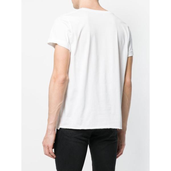 サンローラン ロゴ 半袖Tシャツ 464572 YB2DQ ブラック ホワイト|jurer-store|03