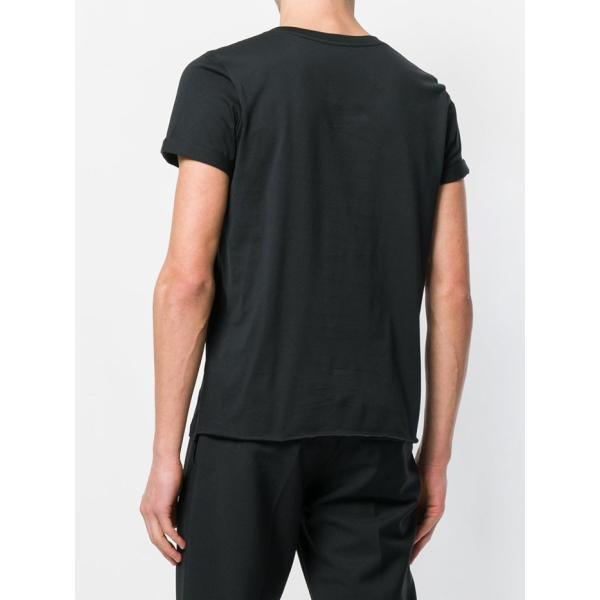 サンローラン ロゴ 半袖Tシャツ 464572 YB2DQ ブラック ホワイト|jurer-store|06