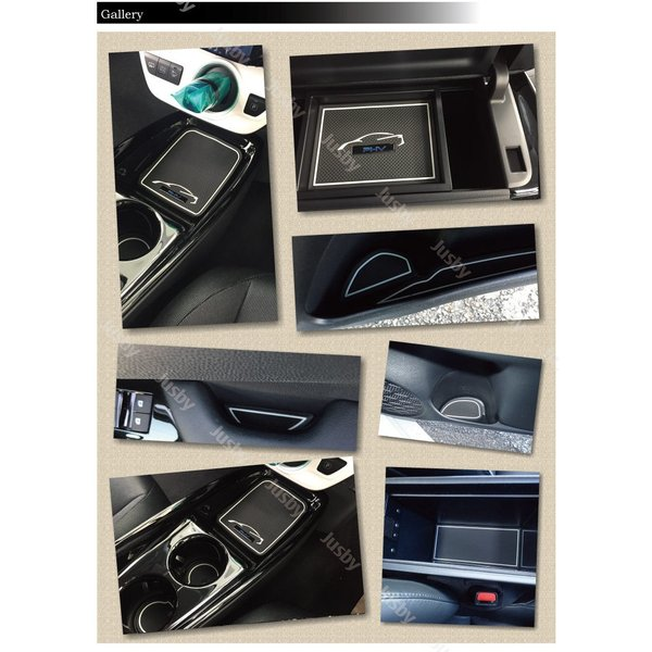 プリウスPHV(ZVW52)専用 インテリアラバーマット前期&後期(取説&保証付)ドアポケットマット フロアマット コンソールマット トヨタ PRIUS PHV|jusby-auto|04