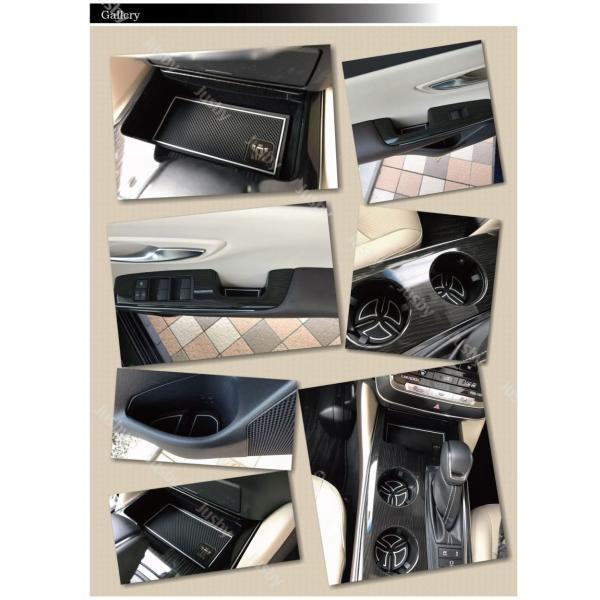 トヨタ 新型クラウン220系専用 インテリアラバーマット ドアポケットマット 保護&ドレスアップ アクセサリーパーツ CROWN jusby jusby-auto 05