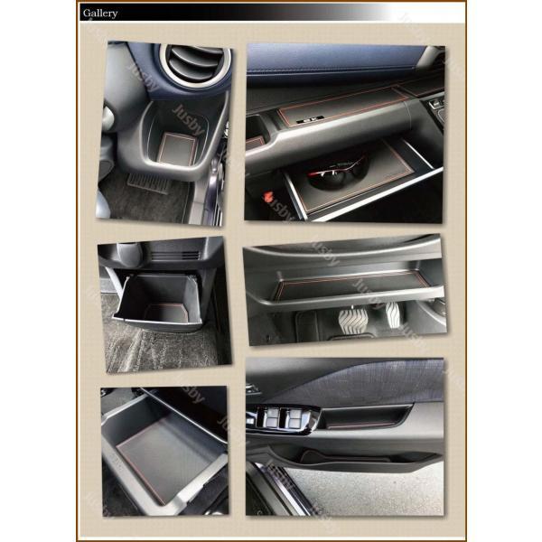 新型デイズ(DAYZ)&eKワゴン/eKクロス(ホワイト/ブラウン/ブルー) インテリアラバーマット ドアポケットマット 日産 三菱 フロアマット パーツアクセサリー jusby-auto 06