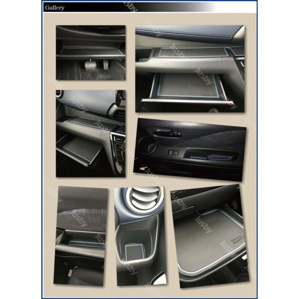新型デイズ(DAYZ)&eKワゴン/eKクロス(ホワイト/ブラウン/ブルー) インテリアラバーマット ドアポケットマット 日産 三菱 フロアマット パーツアクセサリー jusby-auto 08