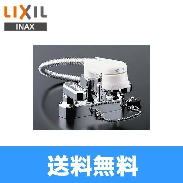リクシル LIXIL/INAX 2ハンドル混合水栓 簡易洗髪シャワー混合栓 SF-25D