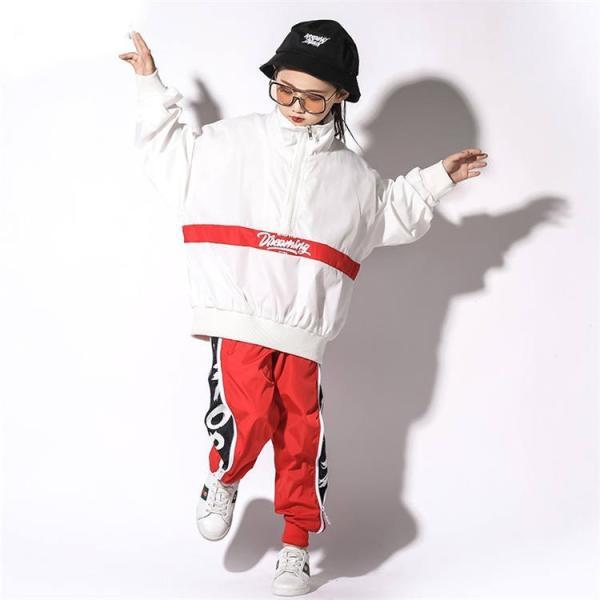 ヒップホップダンス衣装 キッズダンス衣装 セットアップ キッズ ダンスパンツ ジャージ ヒップホップダンスパンツ 韓国 練習着 ジャズダンス|just-for-you|09