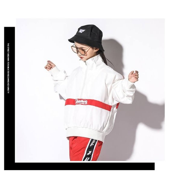 ヒップホップダンス衣装 キッズダンス衣装 セットアップ キッズ ダンスパンツ ジャージ ヒップホップダンスパンツ 韓国 練習着 ジャズダンス|just-for-you|10