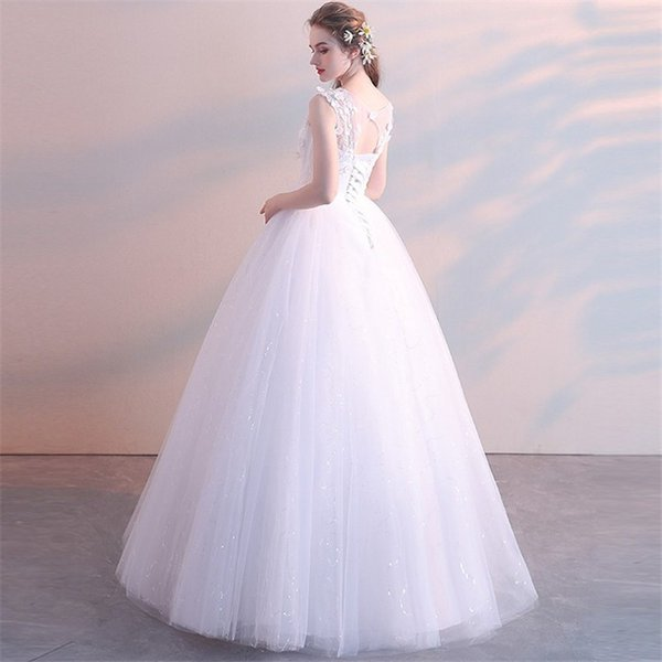 エンパイアライン ウエディングドレス 二次会 花嫁ドレス 花嫁 結婚式 ドレス ベアトップ ウェディングドレス パーティードレス フォーマルドレス|just-for-you|04
