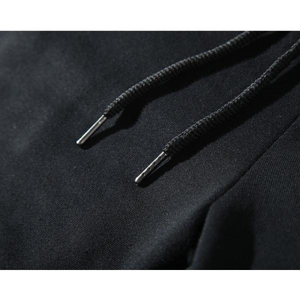 スウェットハーフパンツ メンズ 無地 シンプル イージーパンツ ゴム付き ルームウエア justmode 11