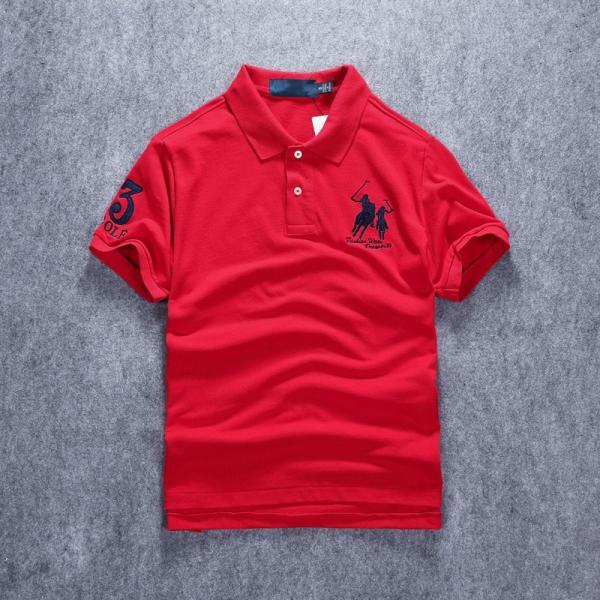 ポロシャツ メンズ 無地 刺繍入り 綿100% 柔らかい カラフル 16色展開 ゴルフウェア カジュアル 夏新作|justmode|11