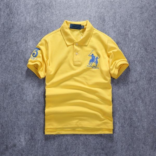 ポロシャツ メンズ 無地 刺繍入り 綿100% 柔らかい カラフル 16色展開 ゴルフウェア カジュアル 夏新作|justmode|17