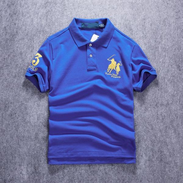 ポロシャツ メンズ 無地 刺繍入り 綿100% 柔らかい カラフル 16色展開 ゴルフウェア カジュアル 夏新作|justmode|19
