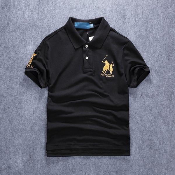 ポロシャツ メンズ 無地 刺繍入り 綿100% 柔らかい カラフル 16色展開 ゴルフウェア カジュアル 夏新作|justmode|04