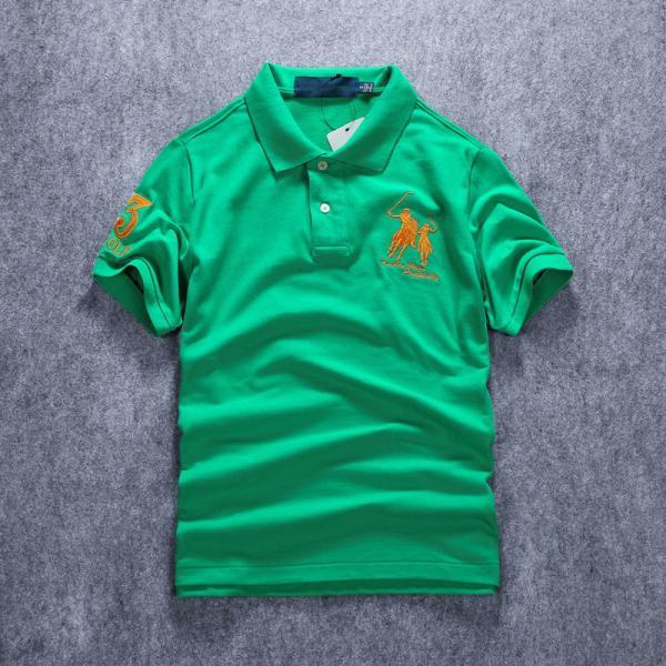 ポロシャツ メンズ 無地 刺繍入り 綿100% 柔らかい カラフル 16色展開 ゴルフウェア カジュアル 夏新作|justmode|05