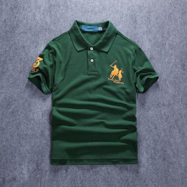 ポロシャツ メンズ 無地 刺繍入り 綿100% 柔らかい カラフル 16色展開 ゴルフウェア カジュアル 夏新作|justmode|09