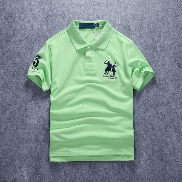 ポロシャツ メンズ 無地 刺繍入り 綿100% 柔らかい カラフル 16色展開 ゴルフウェア カジュアル 夏新作|justmode|10