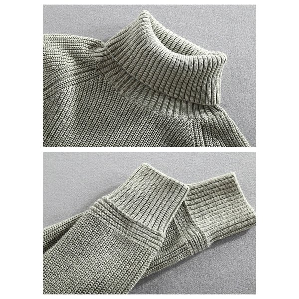 セーター メンズ ニット タートルネック ハイネック タイト 無地 シンプル トップス|justmode|11