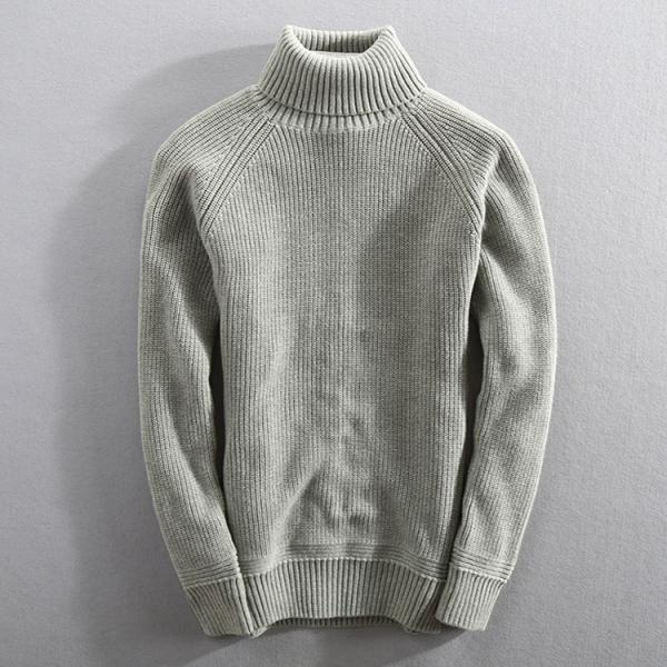セーター メンズ ニット タートルネック ハイネック タイト 無地 シンプル トップス|justmode|03