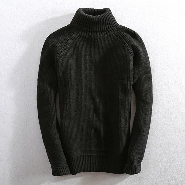 セーター メンズ ニット タートルネック ハイネック タイト 無地 シンプル トップス|justmode|05