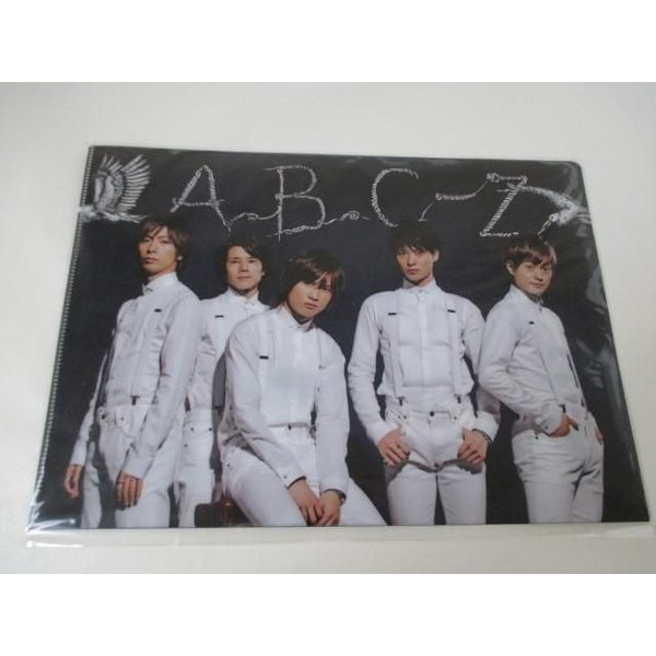 A.B.C-Z クリアファイル 集合 JOHNNYS' World 未開封 justy-net