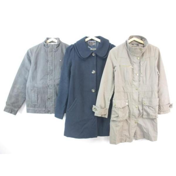 中古ディグレースカリアングアーノルドパーマータイムレスジャケットコート冬物等3点セット136Sブラウンブラックレディース