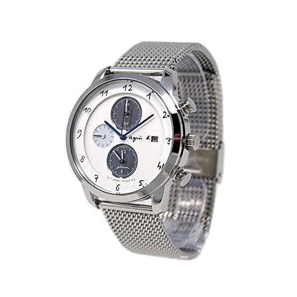 FBRD944 アニエスベー ユニセックス 腕時計 マルチェロ クロノグラフ ソーラー 国内正規品  agnesb