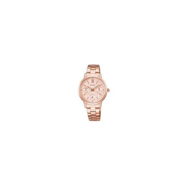 AGET713 レディース 腕時計 ワイアード WIRED f クリスマス限定 大きめレディース ペアモデル