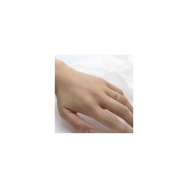 指輪 レディース ピンキーリング ピンキーリング 指輪 バンブー エタニティリング 竹 10金 ピンクゴールドK10 竹 ホワイトデー プレゼント