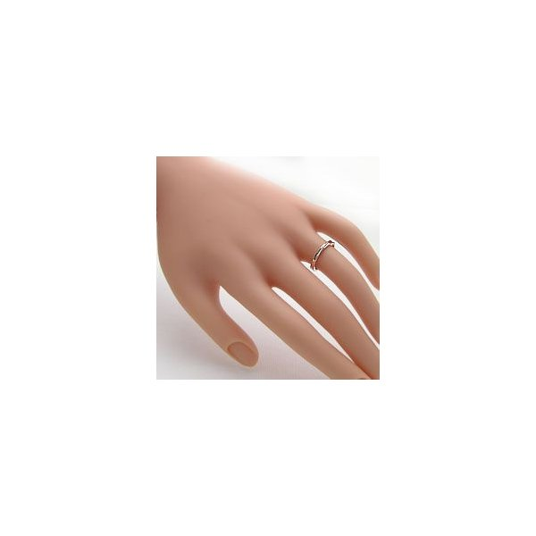 結婚指輪 マリッジリング デザインリング ピンクゴールドK18 ペアリング 2本セット 18金