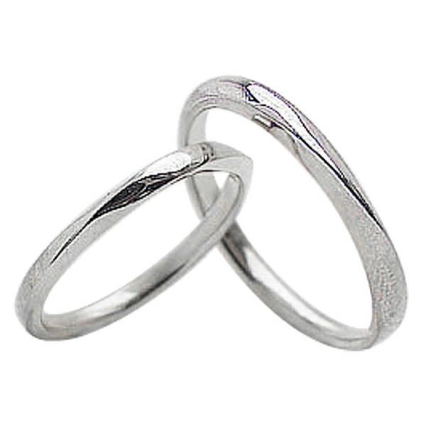 結婚指輪 ペアリング プラチナ Pt900 マリッジリング 2本セット  カップル ホワイトデー プレゼント