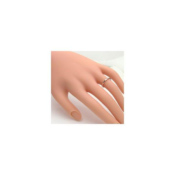 結婚指輪 ペアリング ピンクゴールドK18 ホワイトゴールドK18 マリッジリング  カップル ホワイトデー プレゼント
