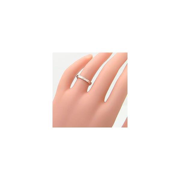 結婚指輪 平打ち 2.5ミリ幅 マリッジリング イエローゴールドK10 ペアリング 2本セット