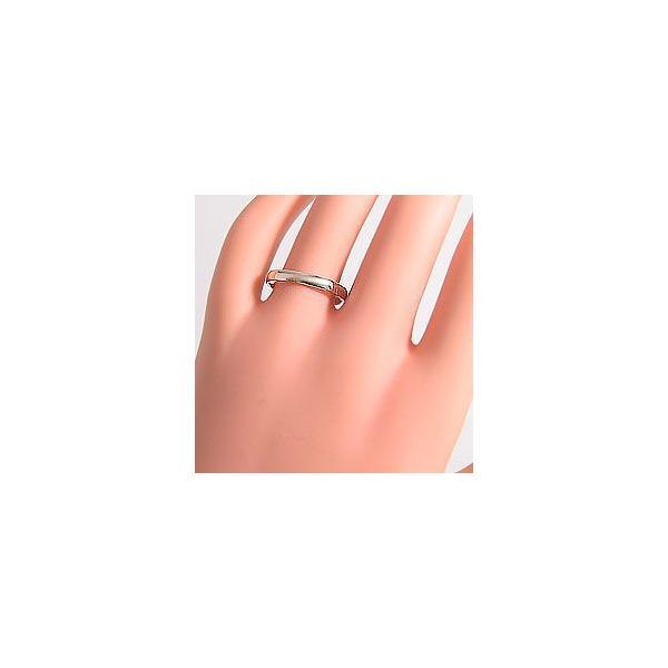 結婚指輪 平甲丸 2.5mm幅 マリッジリング イエローゴールドK10 ペアリング 10金