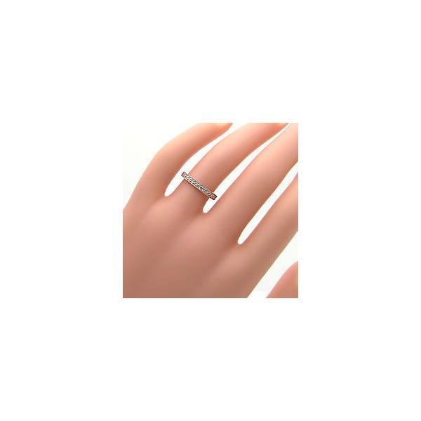 結婚指輪 エタニティリング ミル打ち ペアリング ダイヤモンド マリッジリング イエローゴールドK10 ホワイトゴールドK10  カップル ホワイトデー プレゼント