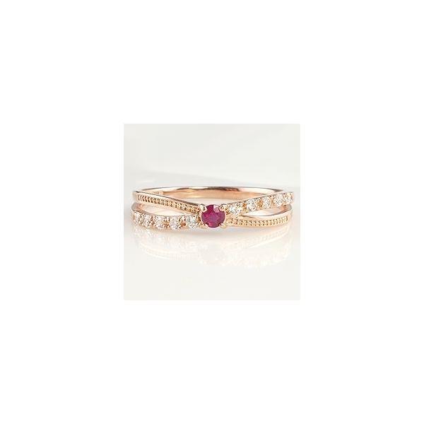指輪 レディース ピンキーリング アンティーク 指輪 誕生石 リング 18金 カラーストーン 取巻き K18 ダイヤモンド ホワイトデー プレゼント