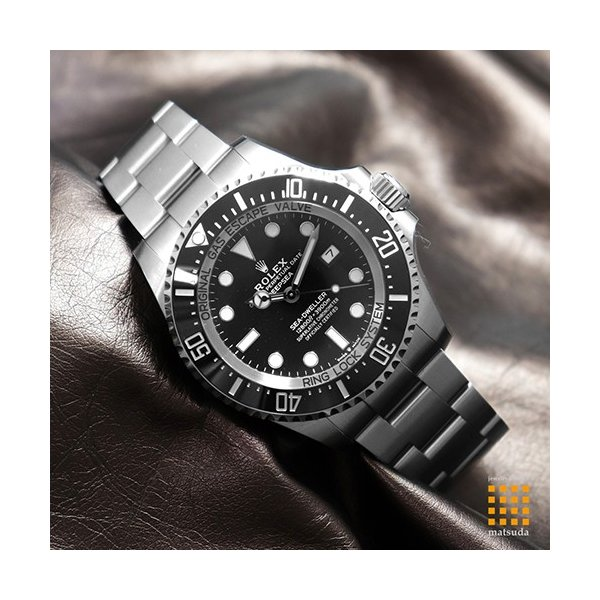 free shipping 575e9 522bd ロレックス 126660 シードゥエラー ディープシー ブラック 2018 ...
