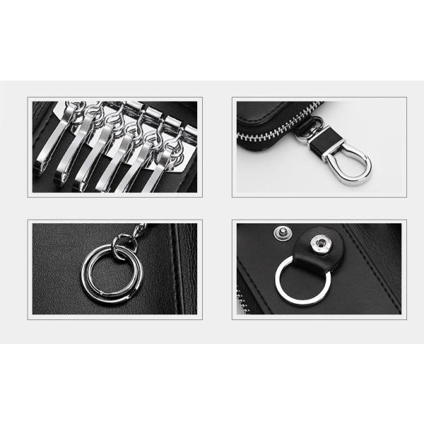 キーケース 鍵 レザー 革 ファッション小物 ケース キーホルダー キーリング スマートキー 雑貨 牛皮 牛革 key002 jwstore 06
