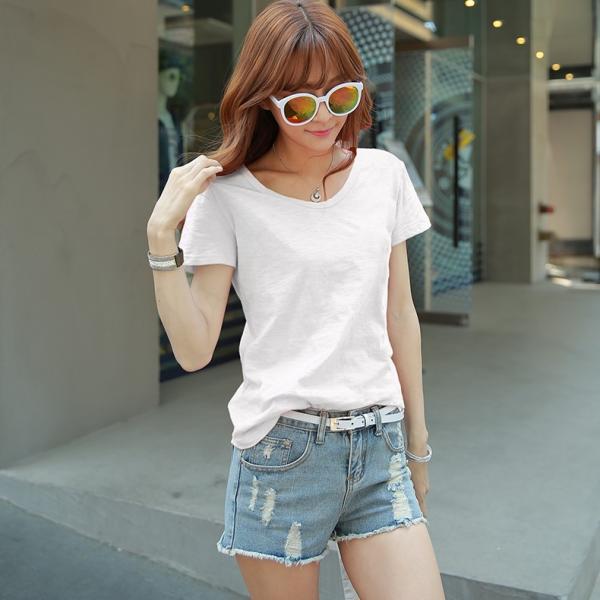 レディース トップス 大きいサイズ Tシャツ 半袖 カットソー ファッション おしゃれ 夏 シフォン シャツ 半袖シャツ スリム トレンド lets16 jwstore 12