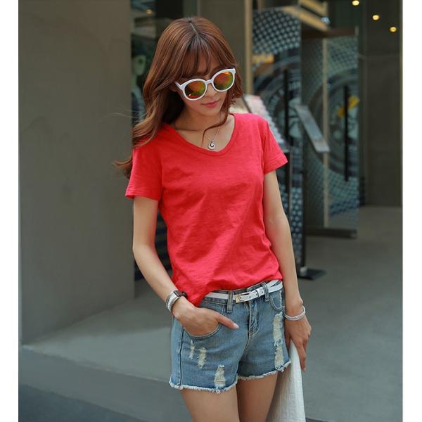 レディース トップス 大きいサイズ Tシャツ 半袖 カットソー ファッション おしゃれ 夏 シフォン シャツ 半袖シャツ スリム トレンド lets16 jwstore 13