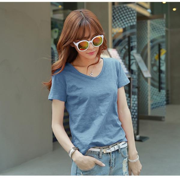 レディース トップス 大きいサイズ Tシャツ 半袖 カットソー ファッション おしゃれ 夏 シフォン シャツ 半袖シャツ スリム トレンド lets16 jwstore 04