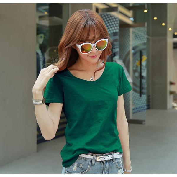 レディース トップス 大きいサイズ Tシャツ 半袖 カットソー ファッション おしゃれ 夏 シフォン シャツ 半袖シャツ スリム トレンド lets16 jwstore 10